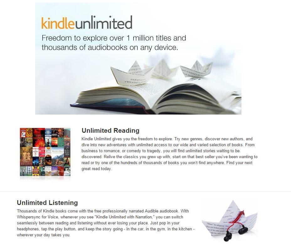 Kindle Unlimited slika