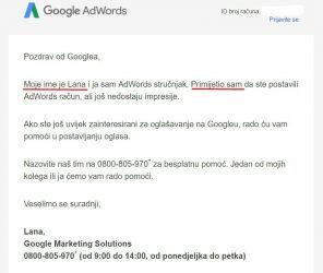 Kad Google prevodi tekst