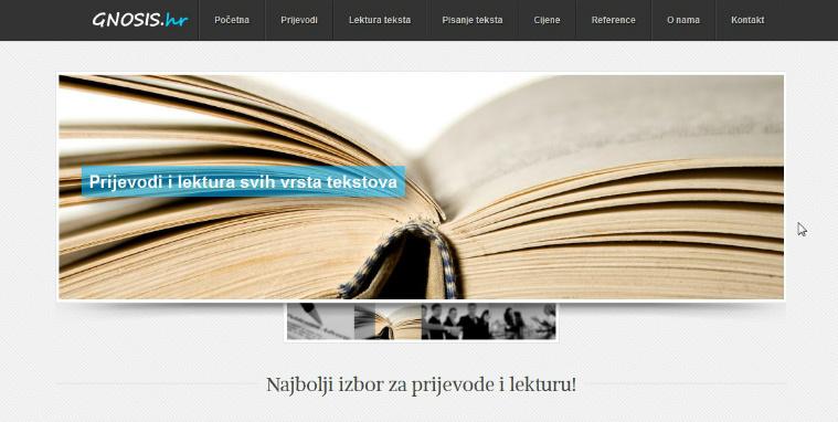 GNOSIS lektura teksta
