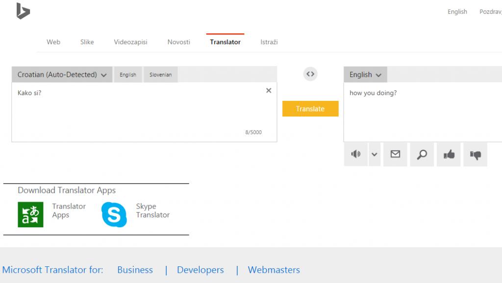 Bing prevoditelj