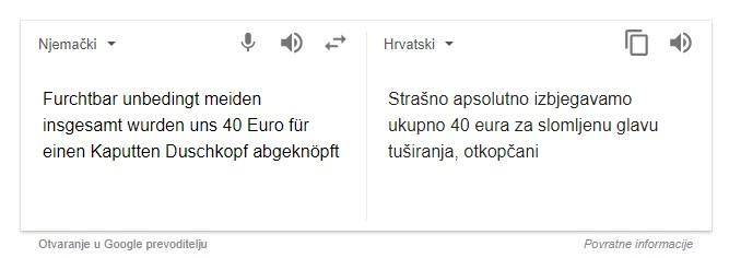 googleov prevoditelj